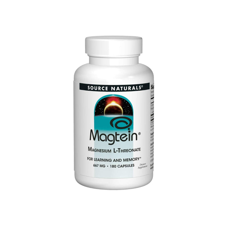 Source Naturals Magtein Magnesium L-Threonate 667 mg 180 Capsules