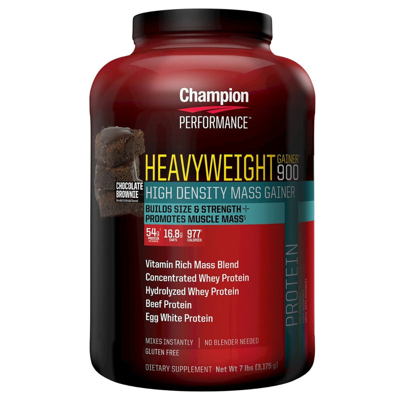 Champion Nutrition Heavyweight Gainer 900 Chocolate Brownie 7 lb