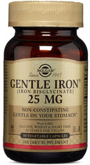 Solgar Gentle Iron 25 mg 90 Veg Capsules
