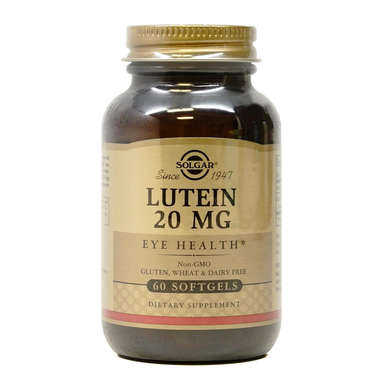 Solgar Lutein 20 mg 60 Softgels