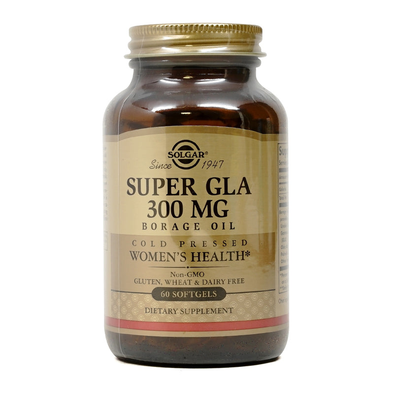 Solgar Super GLA Borage Oil 300 mg 60 Softgels