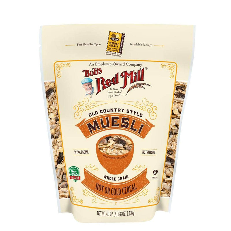 Bob's Red Mill Old Country Style Muesli 18 oz