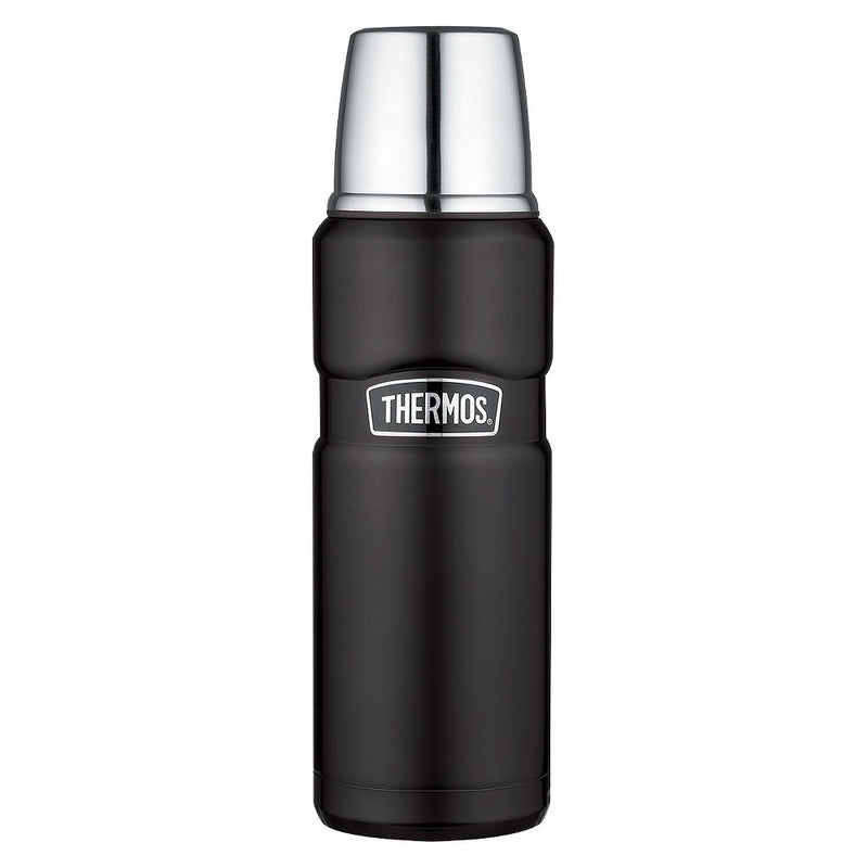 Thermos Stainless King Vacuum Insulated Beverage Bottle Midnight Blue 16 oz