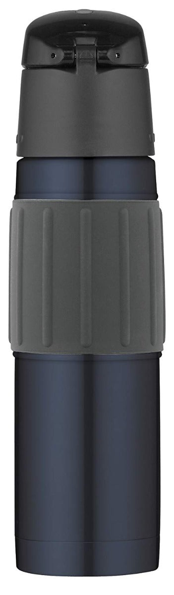 Thermos Vacuum Insulated Stainless Steel Hydration Bottle Midnight Blue 18 oz