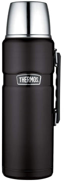 Thermos Stainless King Stainless Steel Beverage Bottle Matte Black 68 oz