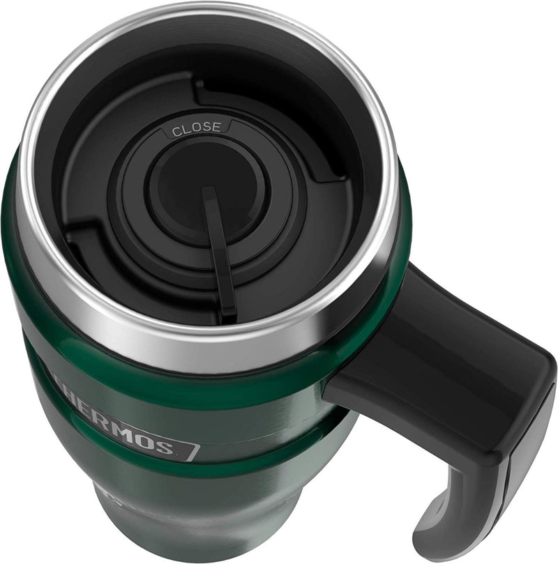 Thermos Stainless King Stainless Steel Travel Mug Pine Green 16 oz