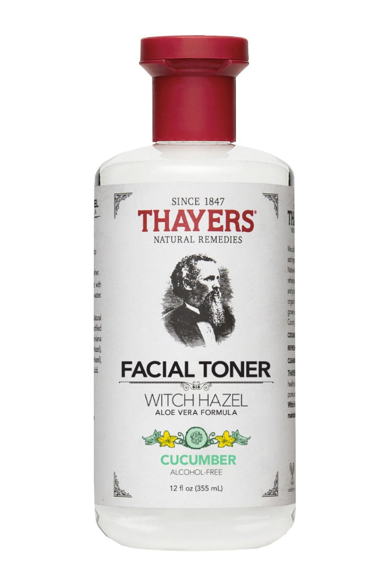 Thayers Alcohol-Free Toner Cucumber Witch Hazel 12 fl oz