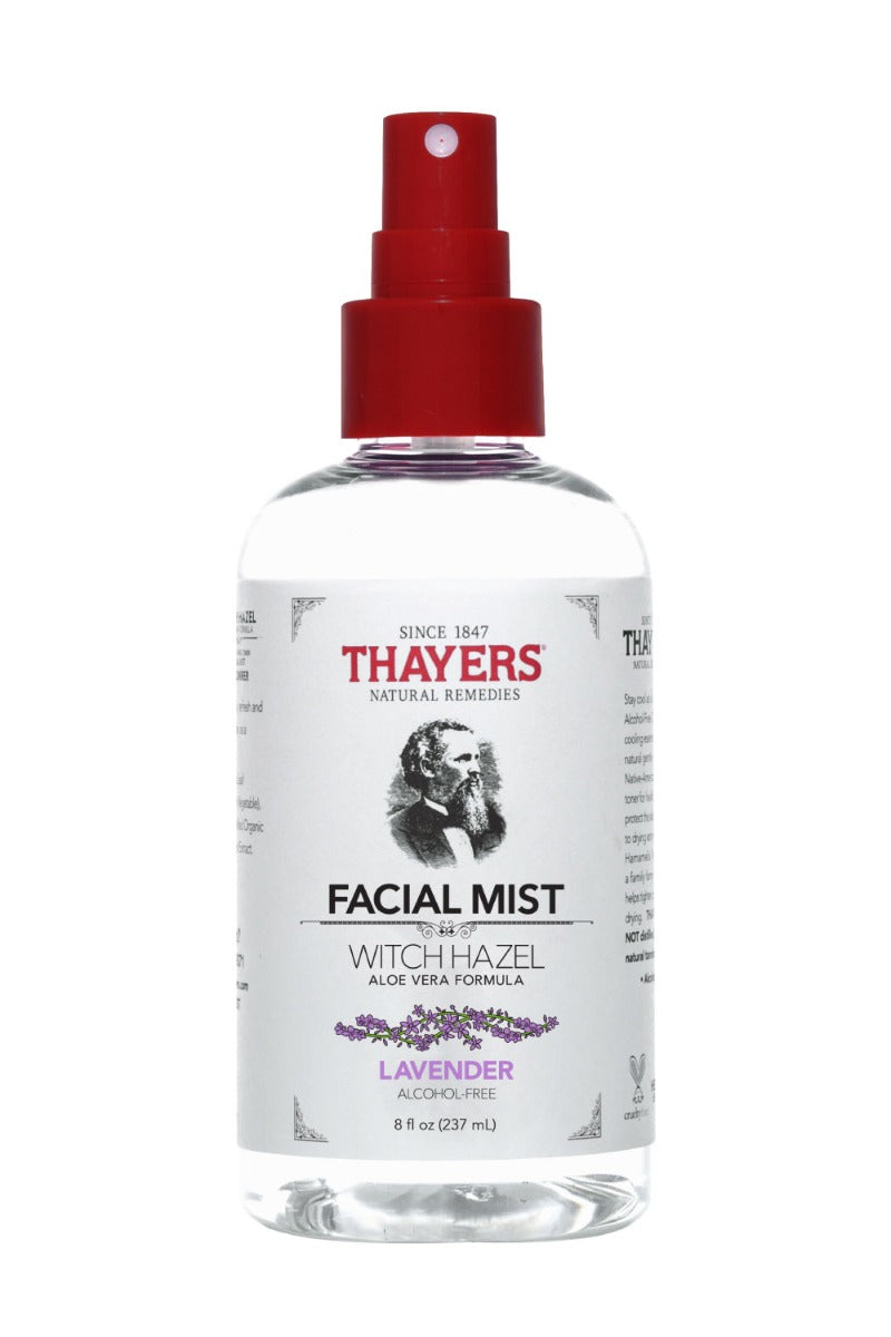 Thayers Witch Hazel Toner Facial Mist Lavender 8 fl oz