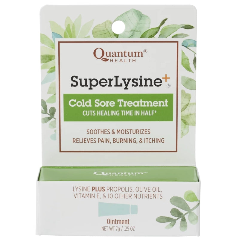 Quantum Health Super Lysine + Cold Sore Treatment 0.25 oz
