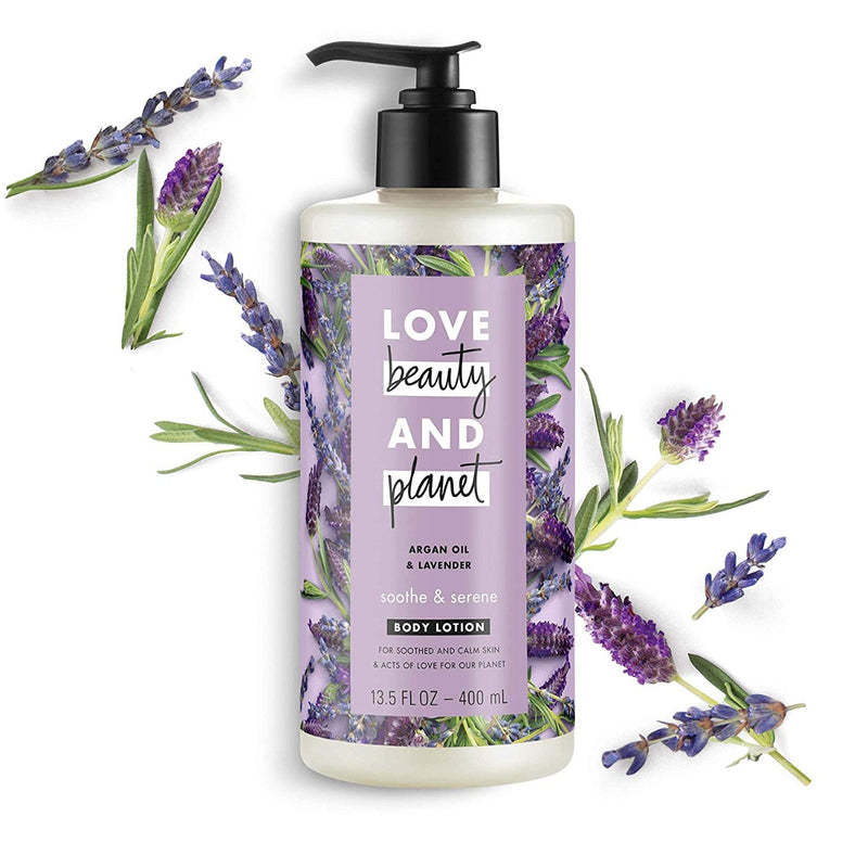 Love Beauty and Planet Body Lotion Argan Oil & Lavender 13.5 fl oz