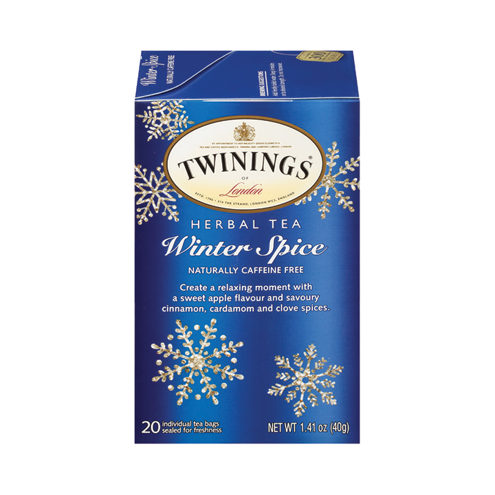 Twinings Herbal Tea, Winter Spice 20 Tea Bags
