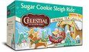 Celestial Seasonings Herbal Tea Holiday Tea Sugar Cookie Sleigh Ride 20 Tea Bags