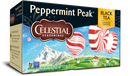 Celestial Seasonings Black Tea Peppermint Peak 20 Tea Bags