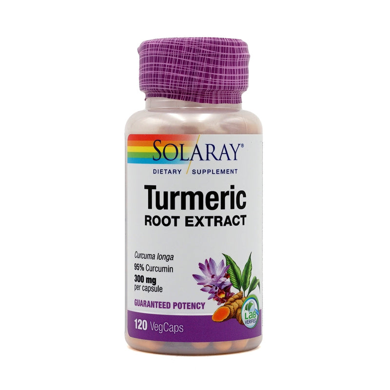 SOLARAY Turmeric Root Extract 300 mg 120 Veg Capsules