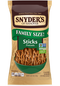Snyders of Hanover Family Size Sticks Pretzels 17 oz