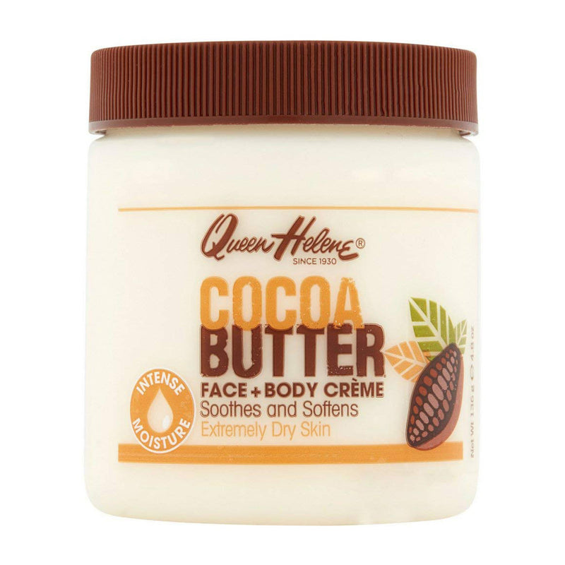 Queen Helene Cocoa Butter Face + Body Creme 4.8 oz