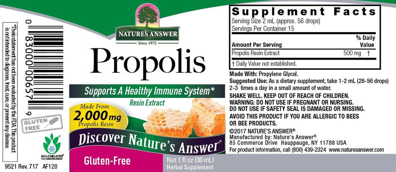 Nature's Answer Propolis 1 fl oz