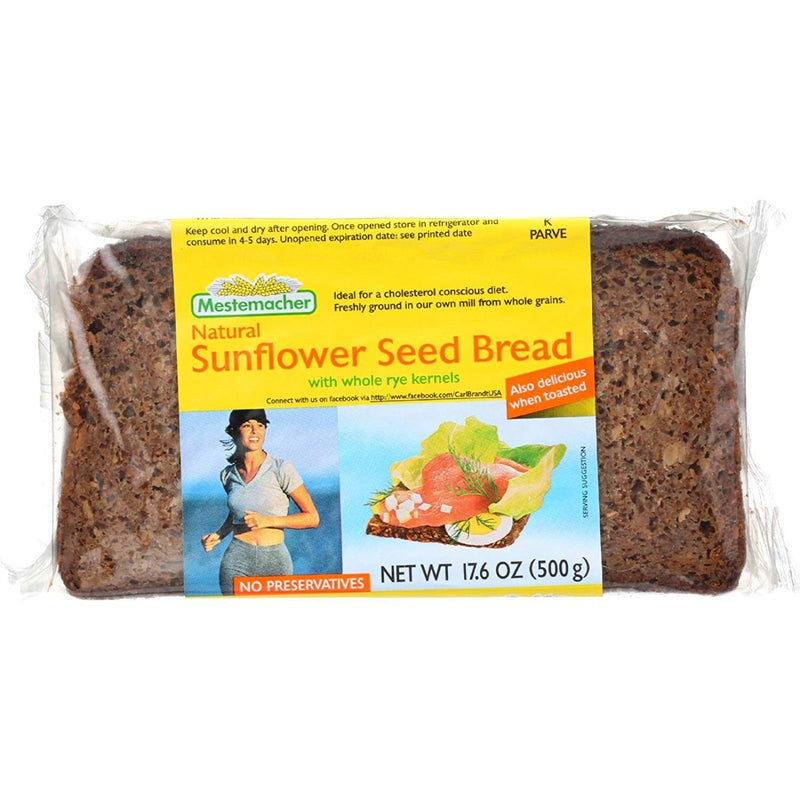 Mestemacher Natural Sunflower Seed Bread 17.6 oz