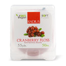 RADIUS Cranberry Floss with Natural Xylitol 55 yds 1 Product