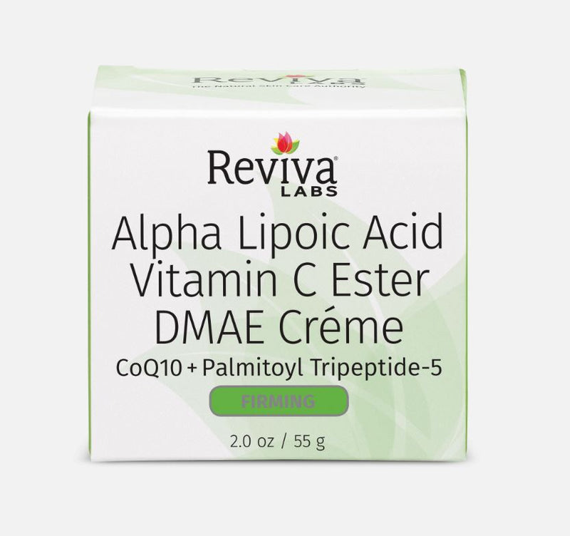 Reviva Labs Alpha Lipoic Acid Vitamin C Ester DMAE Cream 2 oz
