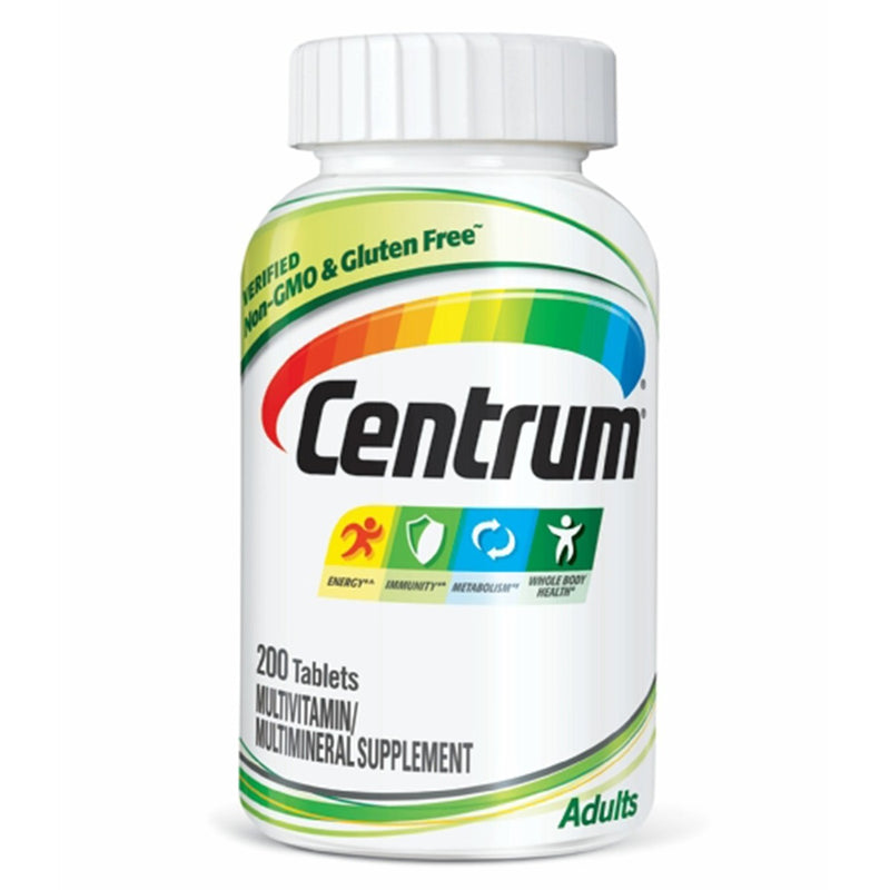 Pfizer Centrum Adult Multivitamin 200 Tablets