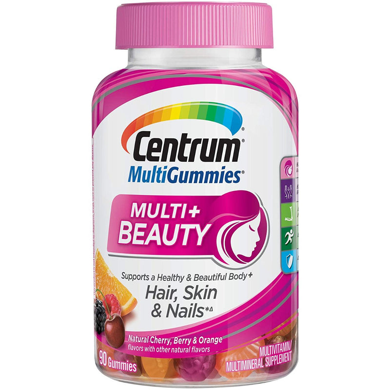 Pfizer Centrum MultiGummies Multi + Beauty 90 Gummies