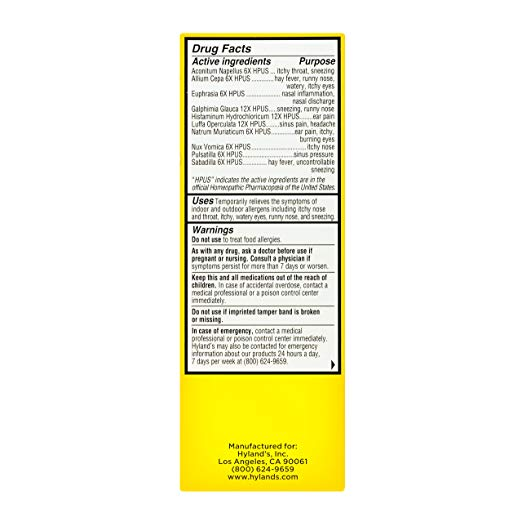Hyland's 4 Kids Complete Allergy 4 fl oz