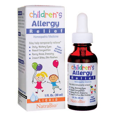 NatraBio Childrens Cold & Flu Relief 1 fl oz