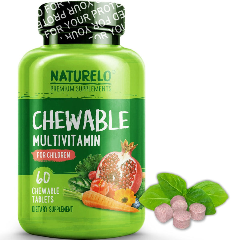 Naturelo Chewable Multivitamin for Children 60 Chewable Tablets