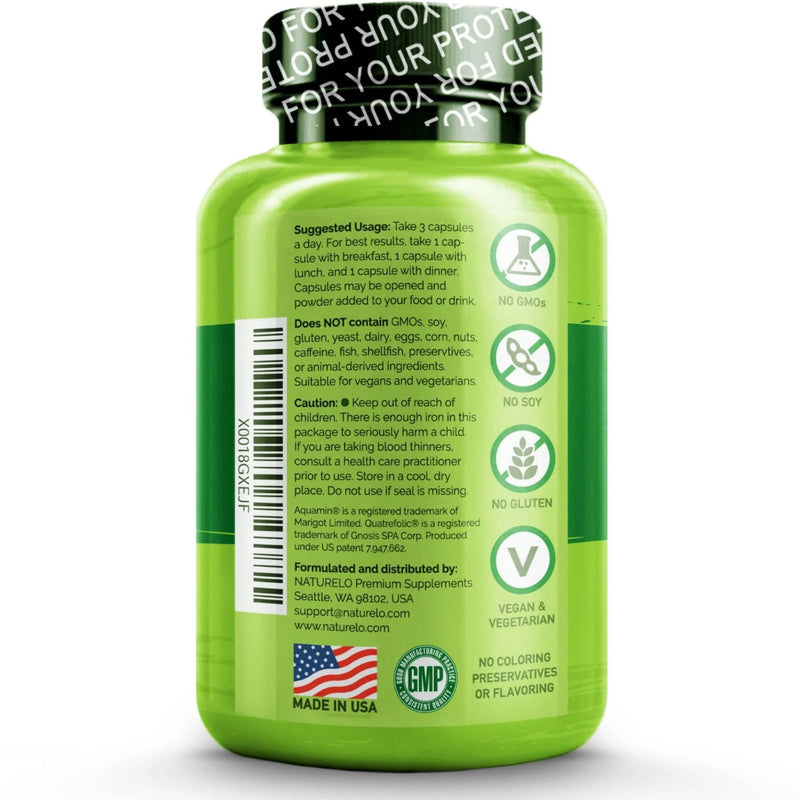 Naturelo Prenatal Multivitamin For Mom & Baby 180 Veg Capsules