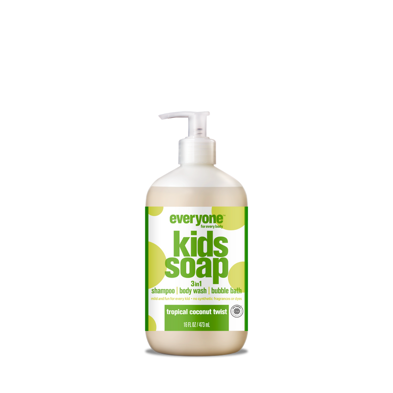 EO Products Everyone Kids 3-in-1 Soap Tropical Coconut Twist 32 fl oz