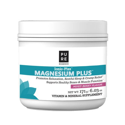 Pure Essence Magnesium Plus Non-Tart Mixed Berry Flavor 171 g