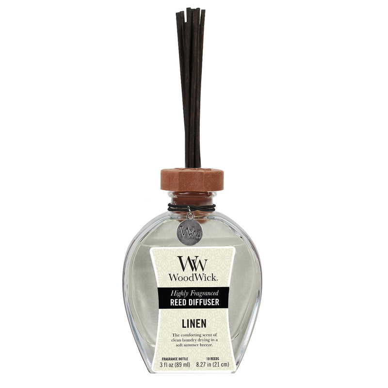 WoodWick Oil Reed Diffuser Linen 3 fl oz