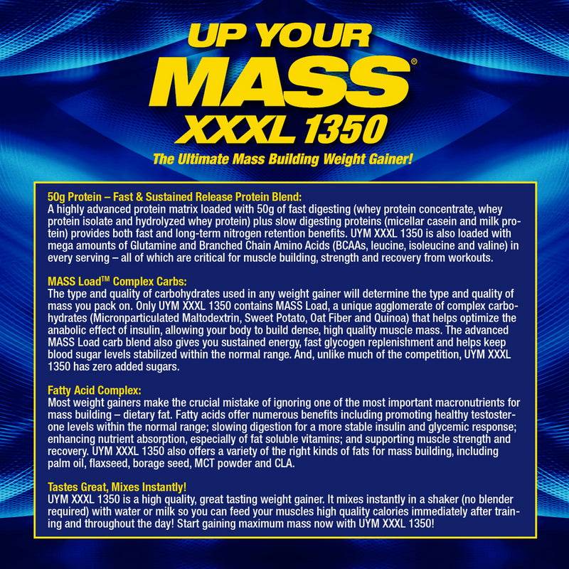 MHP Up Your Mass XXXL 1350, French Vanilla Creme 12 lbs