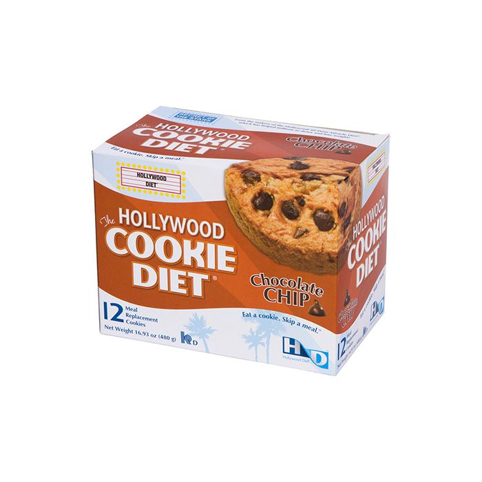 Hollywood The Hollywood Cookie diet Chocolate Chip 16.93 oz