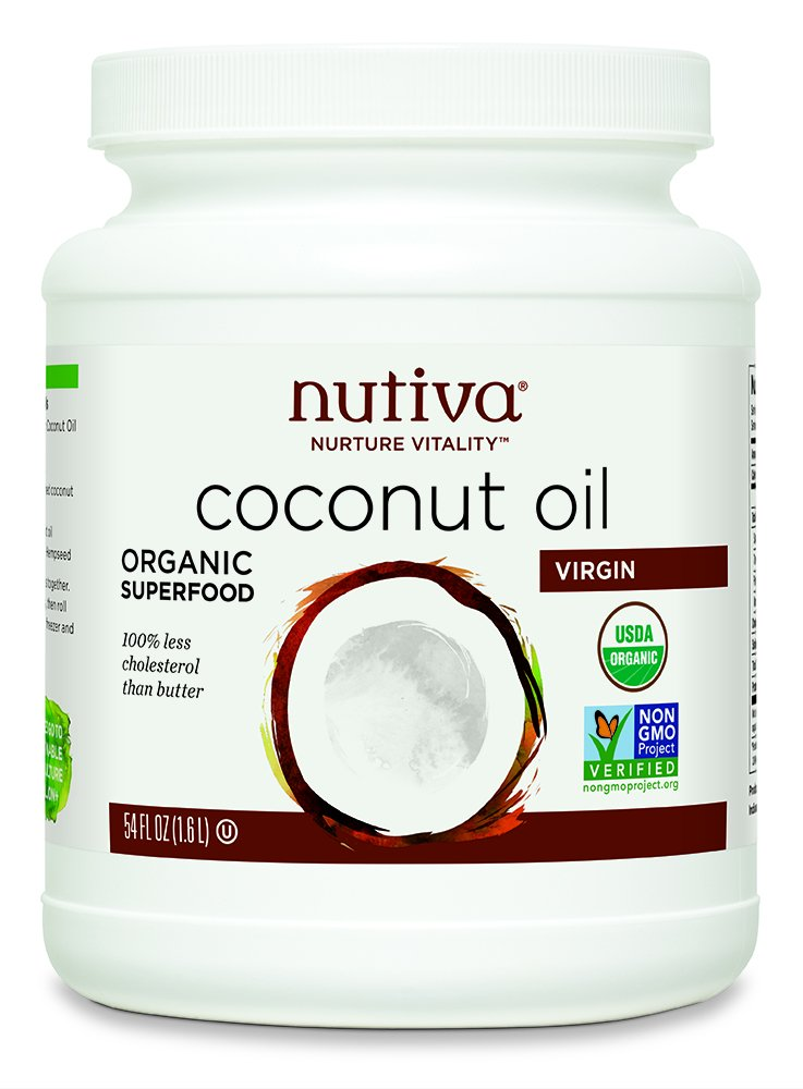 Nutiva Virgin Coconut Oil 54 fl oz (1.6 L)