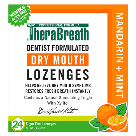 TheraBreath Dry Mouth Lozenges 24 Lozenges