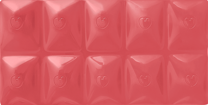 CHOCOLOVE Chocolove XOXOX Filled Pink Grapefruit Ruby Cacao Bar 3.2 oz