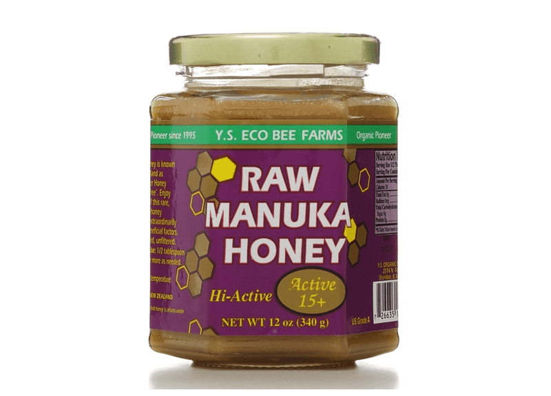Y.S. Eco Bee Farms Raw Manuka Honey Active 15+ 12 oz