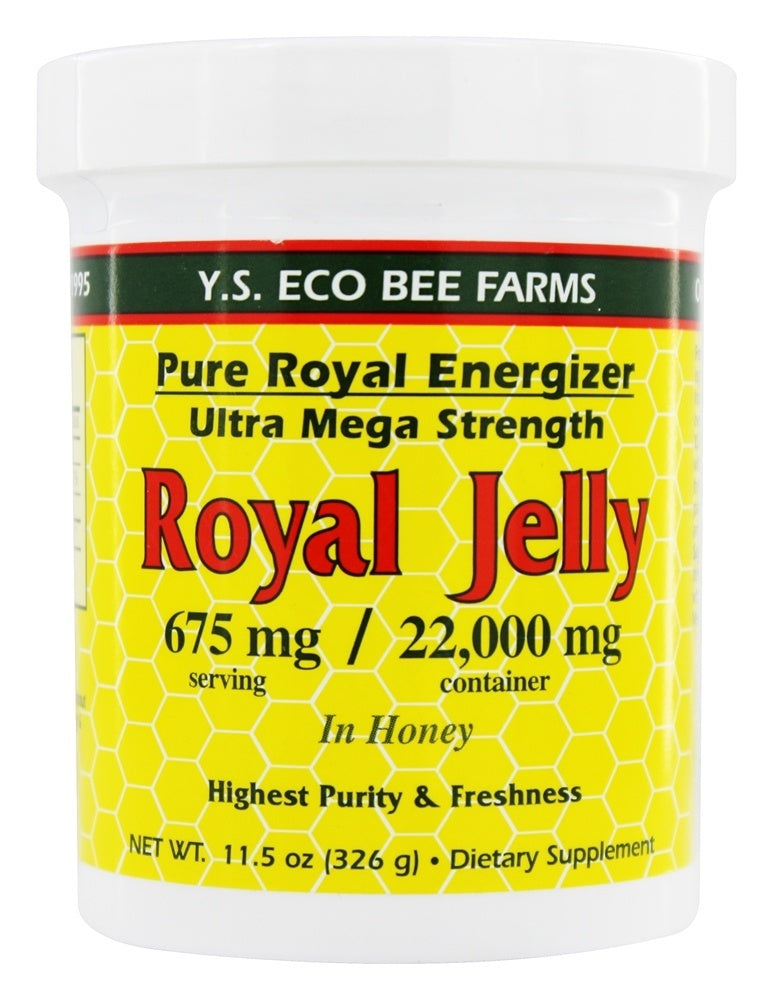 Y.S. Eco Bee Farms Royal Jelly 675 mg 11.5 oz