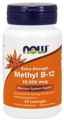 Now Foods Methyl B-12 10,000 mcg 60 Lozenges