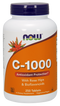 Now Foods C-1,000 with Rose Hips & Bioflavonoids 1,000 mg 250 Tablets