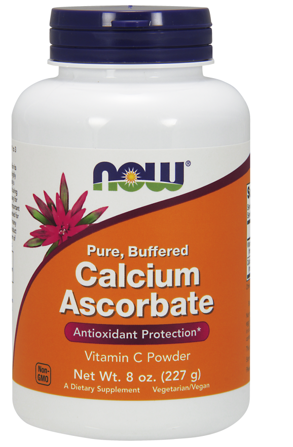 Now Foods Calcium Ascorbate 8 oz