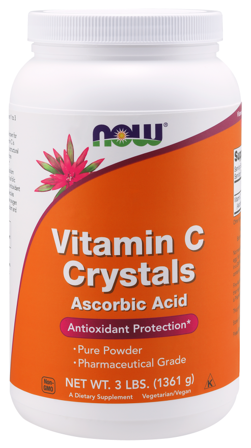 Now Foods Vitamin C Crystals 3 lb