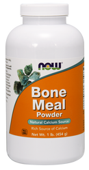 Now Foods Bone Meal Powder 1 lb