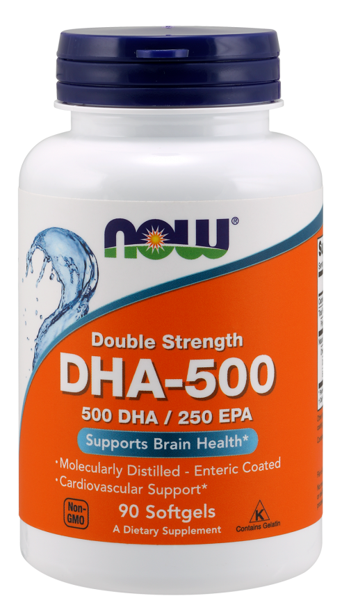 Now Foods DHA-500 90 Softgels