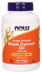 Now Foods Double Strength Black Currant Oil 1,000 mg 100 Softgels