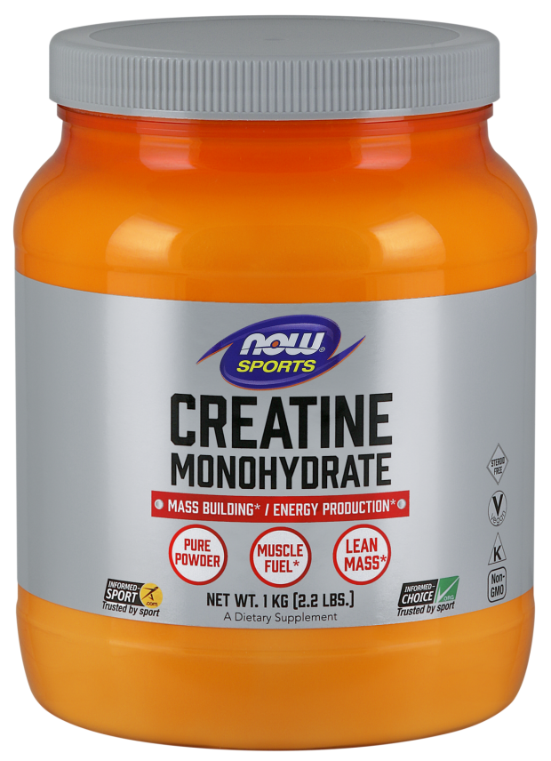 Now Foods Creatine Monohydrate Pure Powder 2.2 lb