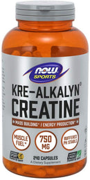 Now Foods Kre-Alkalyn Creatine 240 Capsules