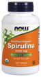 Now Foods Organic Spirulina 1000 mg 120 Tablets